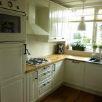 keuken met eikenwerkblad